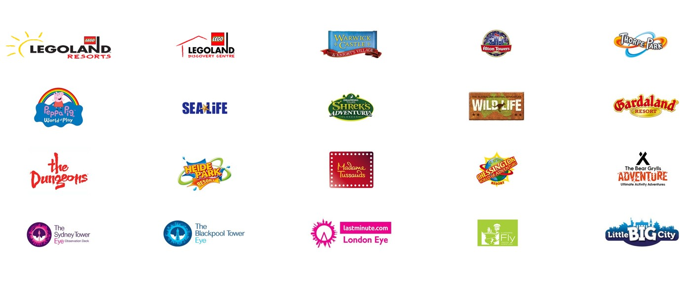 merlin entertainments brands